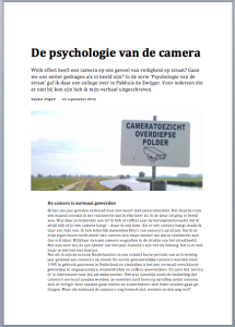 Download het essay 'De psychologie van de camera' (PDF)