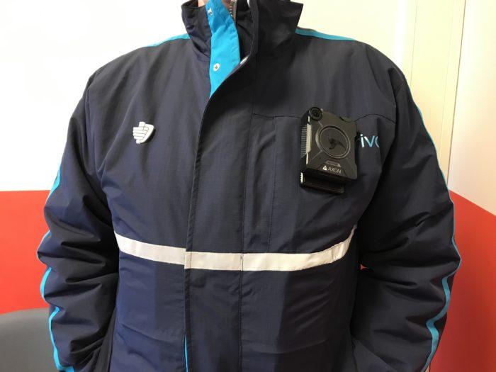 Steward van Arriva met bodycam